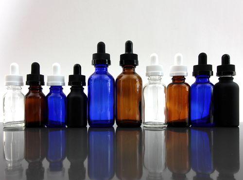 E-Liquid Glass Dropper Bottle