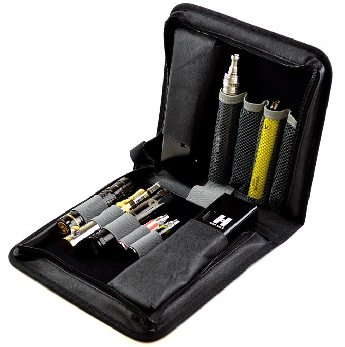 Zipper Style Carrying Case for E-Cigarettes