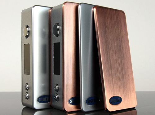 Sigelei 75W TC Mod Stainless Steel Cover Plates (2-Piece Set)