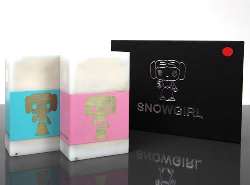 Authentic Snowgirl Mechanical Box Mod by Vapor Ijoye