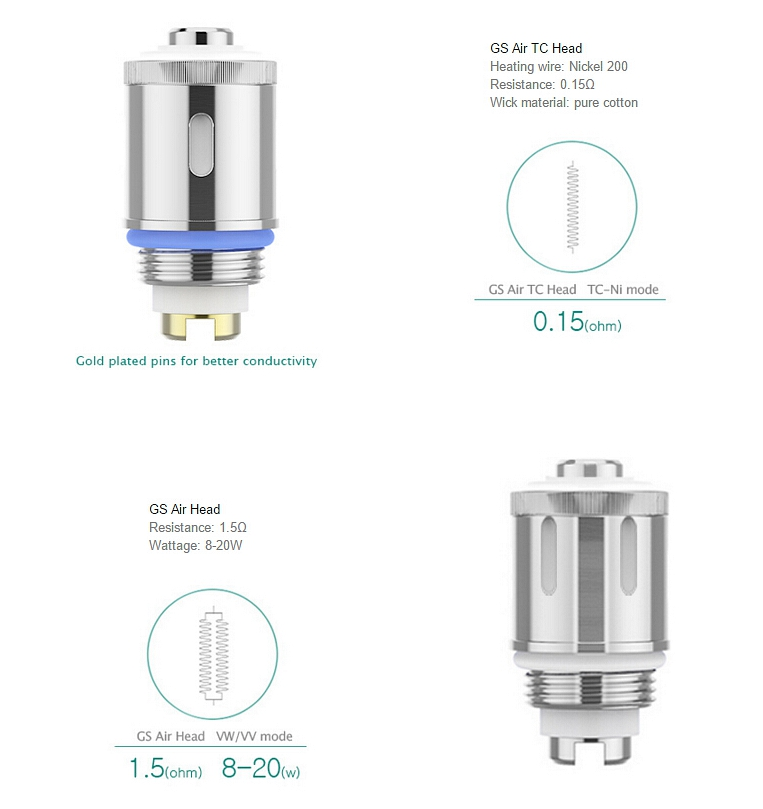 Eleaf GS Air Replacement Coil (Set of 5)