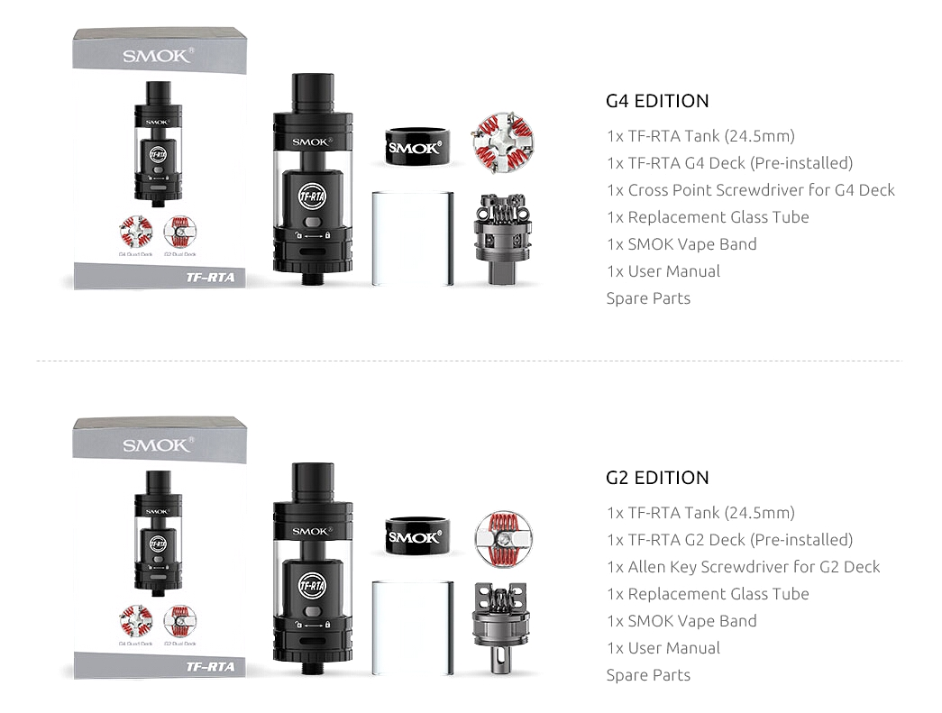 TF-RTA G2/G4 by SMOK