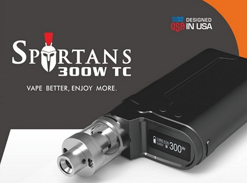 Spartans 300W TC Box Mod