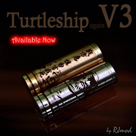 Authentic Turtleship V3 by RJMOD