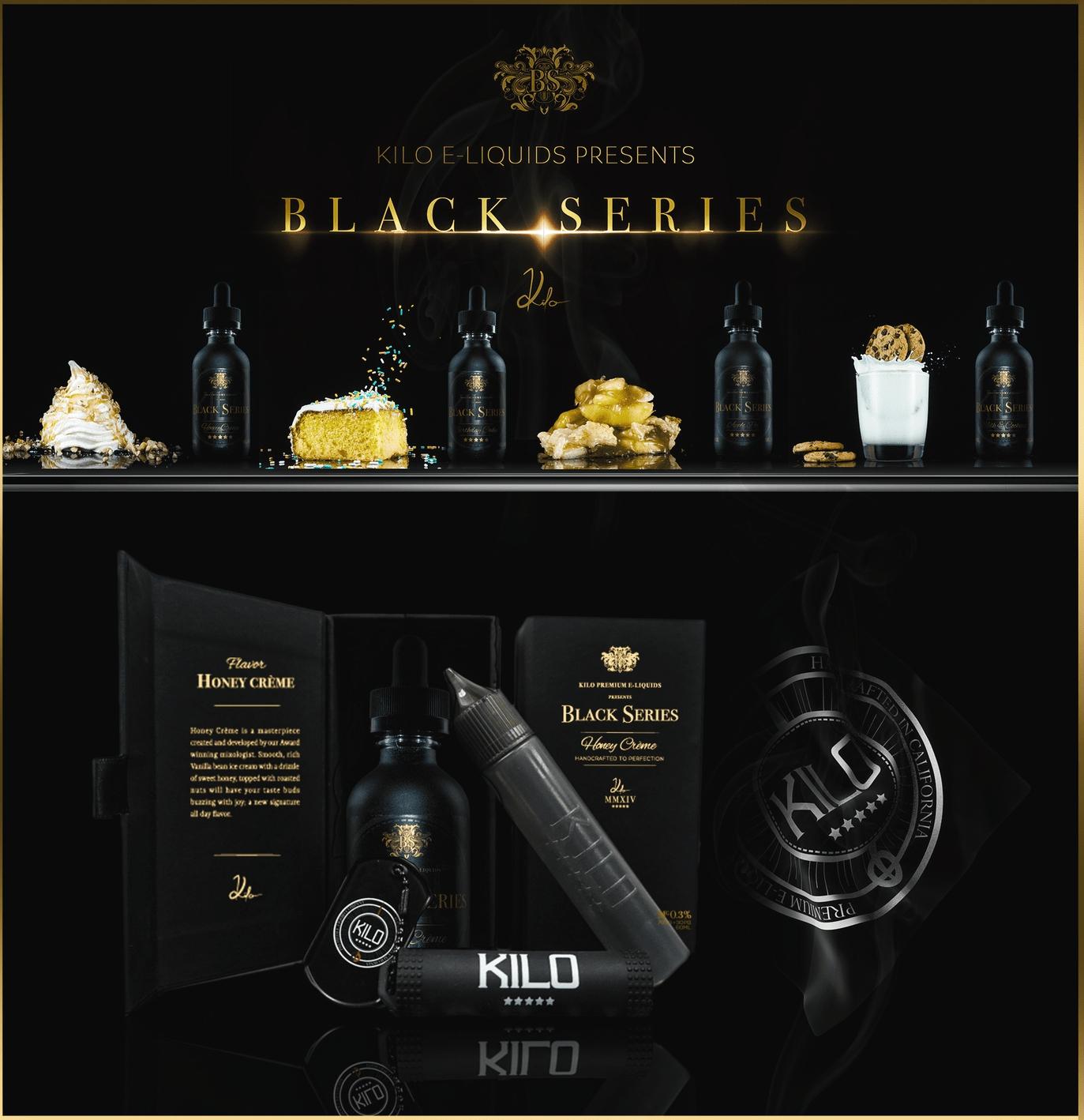 Kilo Black Series 60mL Premium E-Liquid