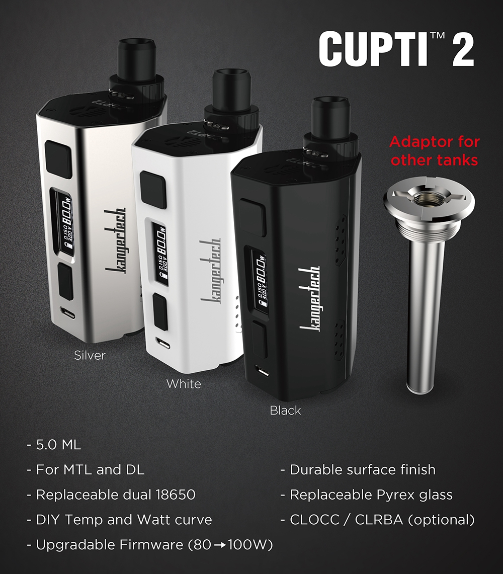 Kanger CUPTI 2 100W All-In-One Starter Kit