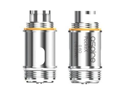 Aspire PockeX 0.6Ω SS316L U-Tech Coils (5pcs)