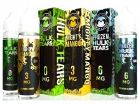 Hulk Tears/Frozen Hulk Tears/Mighty Mango/Frozen Mighty Mango 60mL Premium E-Juice
