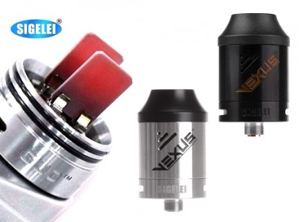 Sigelei Vexus CDA Coil-Less Dripping Atomizer by GUO