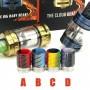 Tobeco Premium Quality Epoxy Resin & Stainless Steel Drip Tip for SMOK TFV8/TFV8 Big Baby