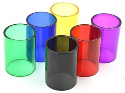 Colored Pyrex Glass Tube for SMOK TFV8 6mL Tank