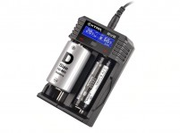 XTAR ROCKET SV2 LCD Screen Fast-Charging Li-ion/Ni-MH Battery Charger