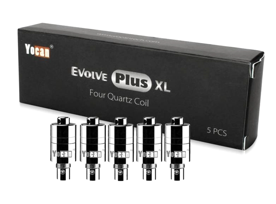Yocan Evolve Plus XL Four Quartz Coils (5pcs)