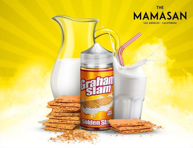 Graham Slam by Mamasan E-Liquid