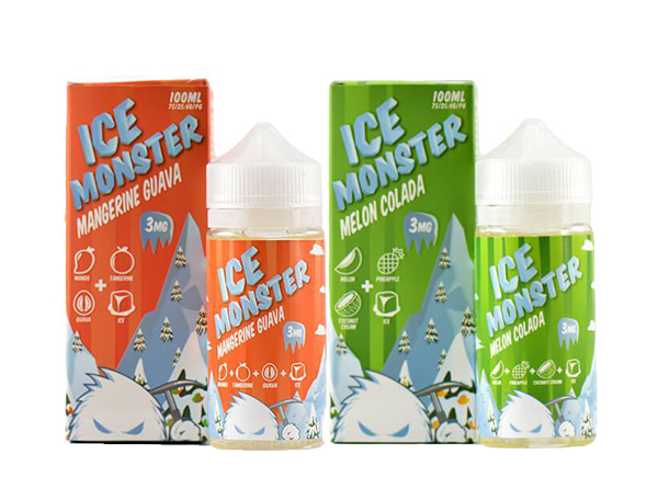 Ice Monster 100mL (Mangerien Guava and Melon Colada) by Jam Monster