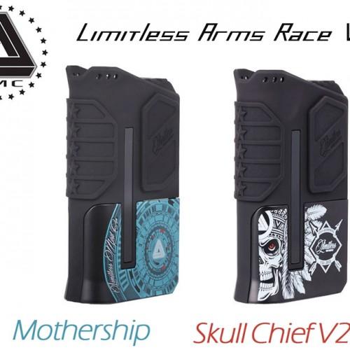 Limitless Arms Race V2 220W TC Box Mod