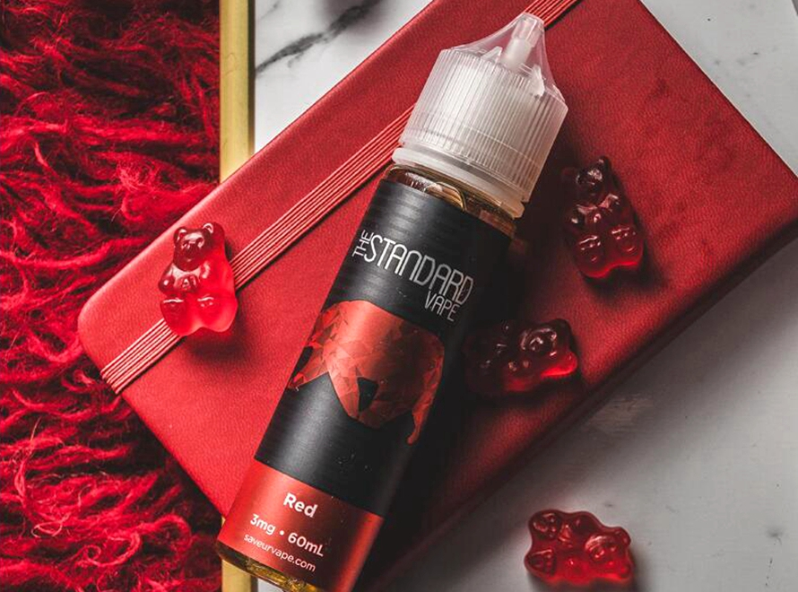 The Standard Gummy Series 60mL E-Liquid by SAVEURVape - Red Gummy