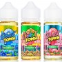 Donut Town 100mL E-Liquid - Pebbled Place