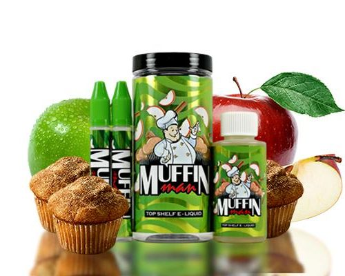 One Hit Wonder Man Series TruNic 2.0 Nicotine Salts 100mL E-Liquid - Muffin Man