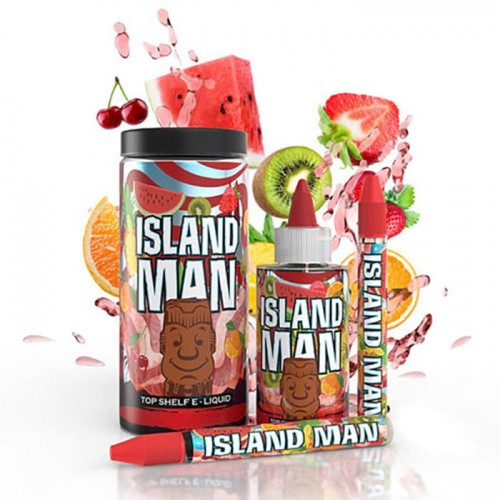 One Hit Wonder Man Series TruNic 2.0 Nicotine Salts 100mL E-Liquid - Island Man
