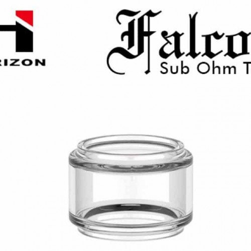 7mL Bulb Pyrex Glass Tube for Horizon Falcon Sub-Ohm Tank