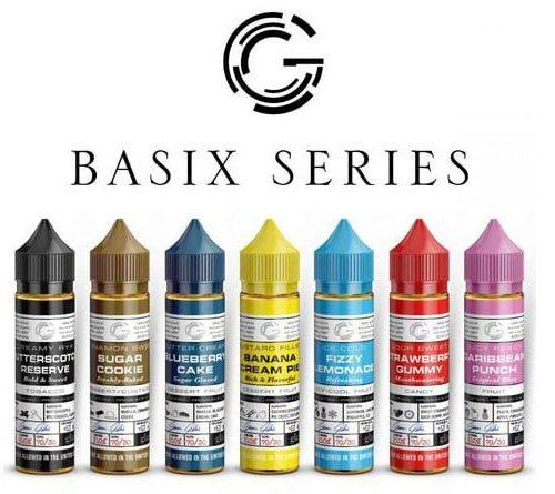 BASIX SERIES 60ML PREMIUM E-LIQUID BY GLAS